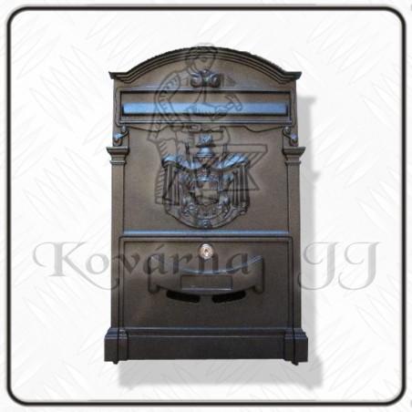 Poštovní schránka AL 255x410  NE